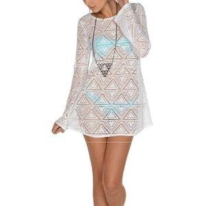Lagaci Crochet Bathing Suit/Beach Cover Up